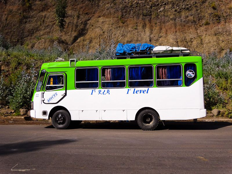 Public Bus From Lalibela To Dessie