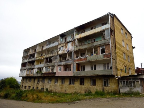 My Apartment Building In Shushi