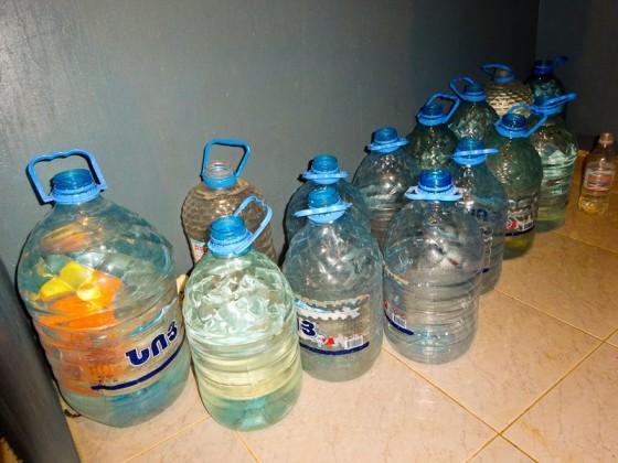 Only One Hour Of Running Water Necesitates Storage