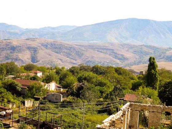 The Mountains Around Shushi