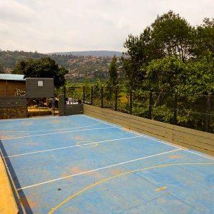 The Soccer-Basketball Court