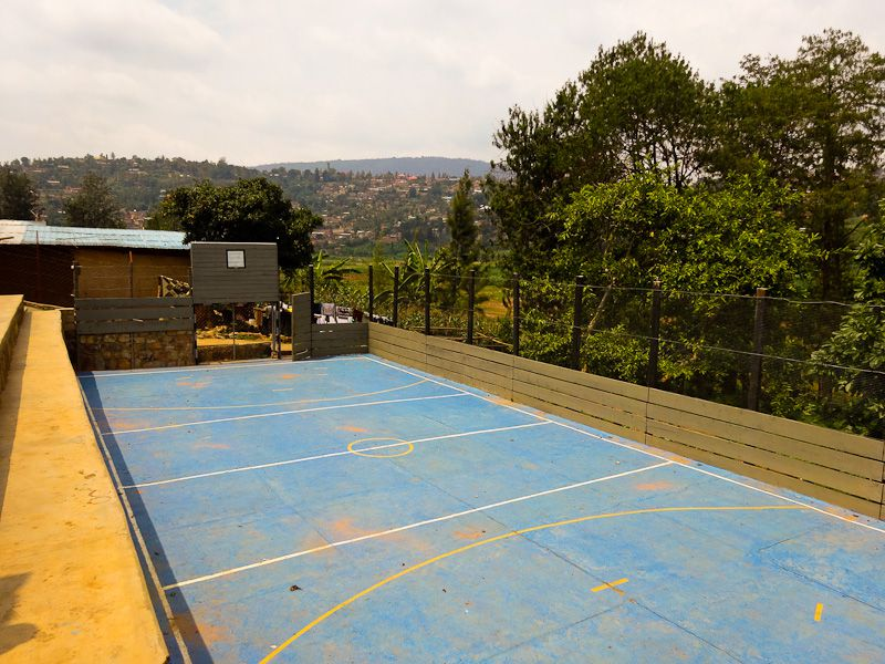 The Soccer-Basketball Court