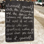 Photo Friday - Advice To Live By - Toronto, Canada