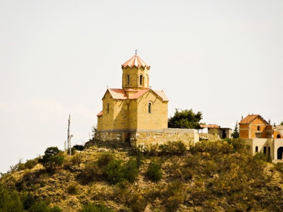 Monastery On A Hill