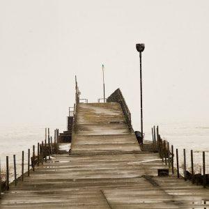 Beautiful Pier - Taken 8-Mar-2014 - Cleveland, OH USA