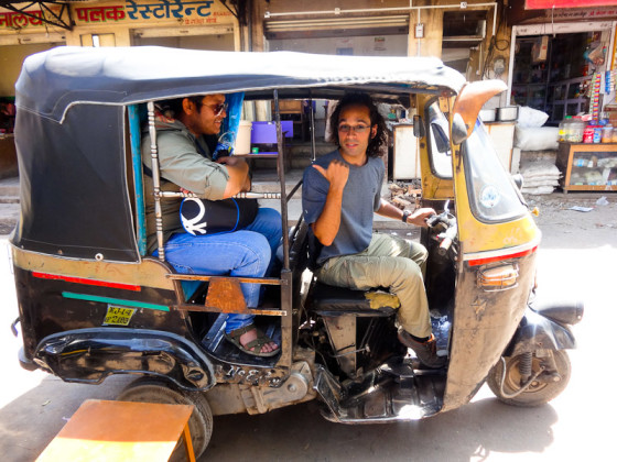 Drive A Rickshaw In India? Why Not?