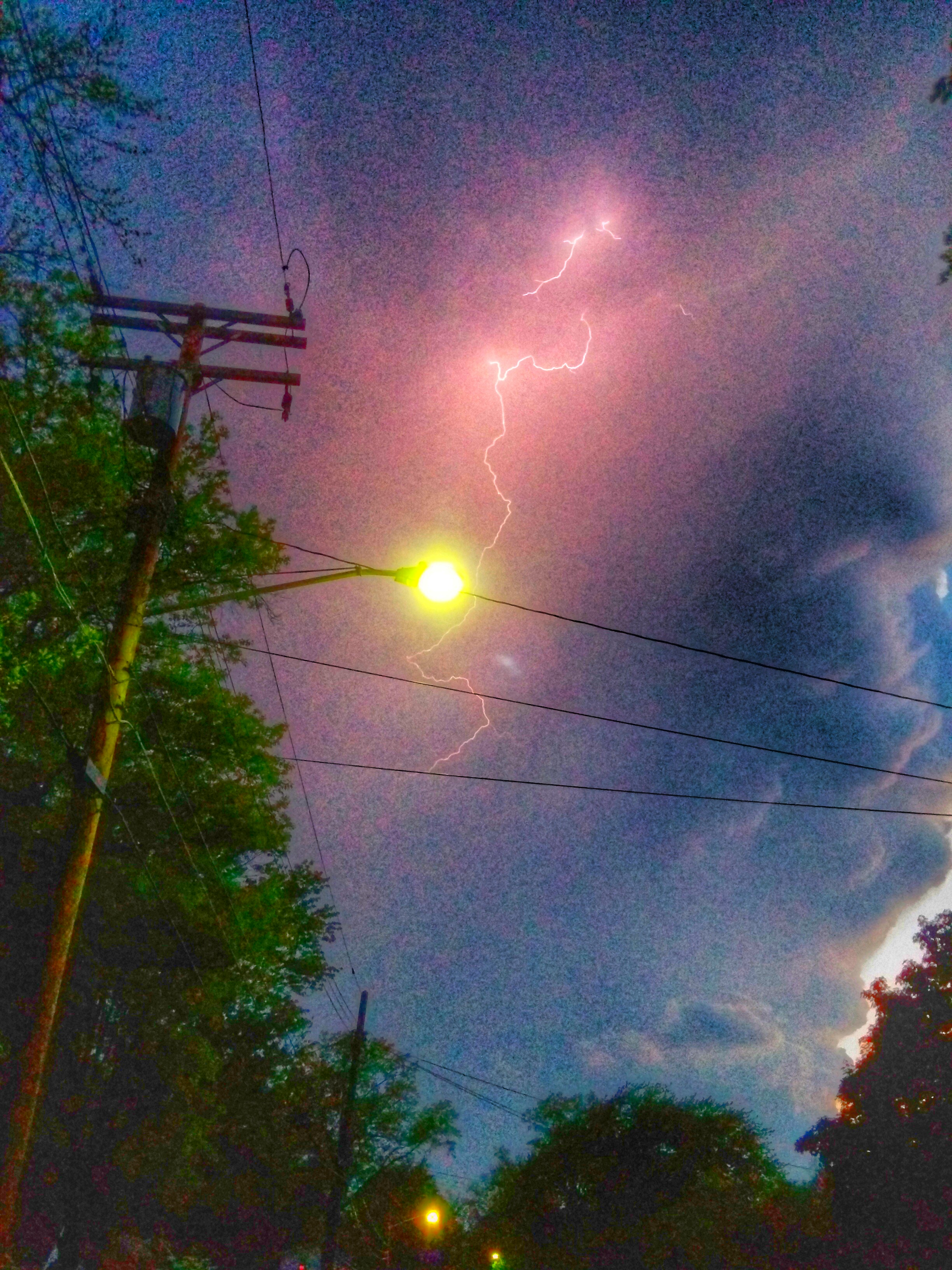Lightning In The Sky - Taken 21-May-2014 - Cleveland, Ohio, USA