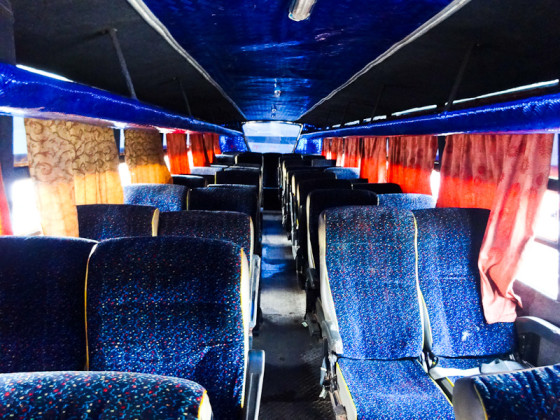 I Was The First Person On The Bus