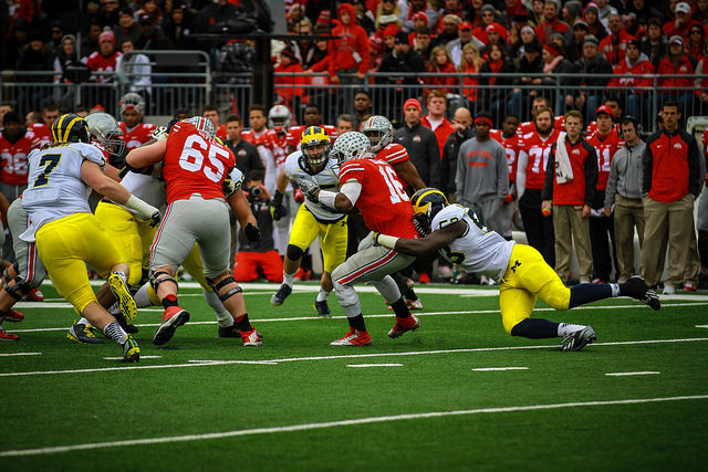 Ohio State vs. Michigan - photo courtesy of MGoBlog