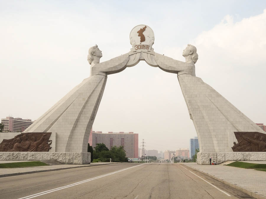 Reunification Monument