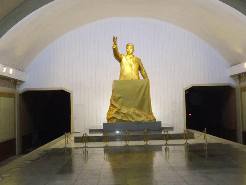 A Statue Of Kim Il Sung