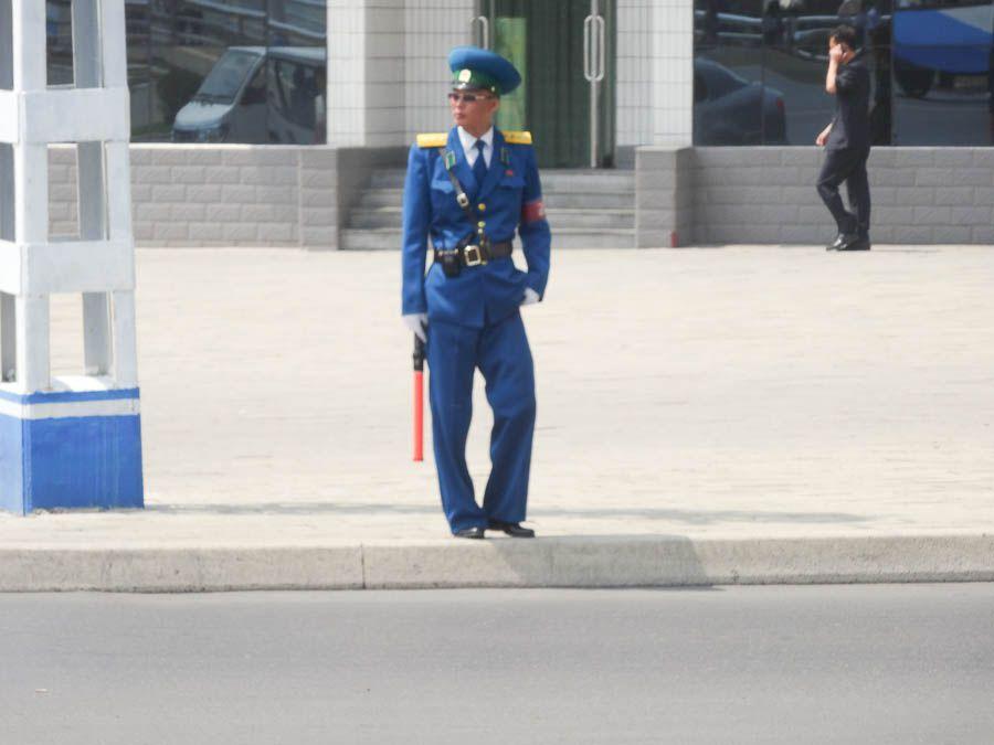 A Traffic Policeman