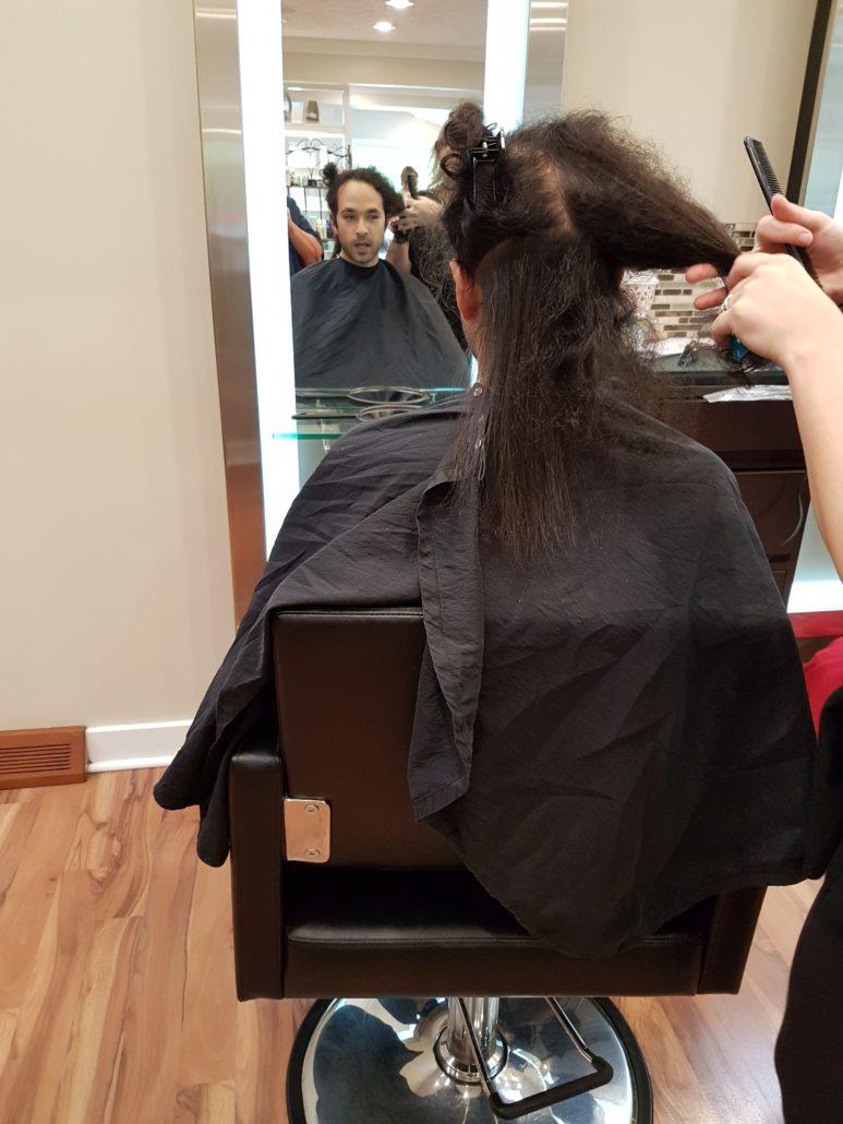 Straightening My Hair