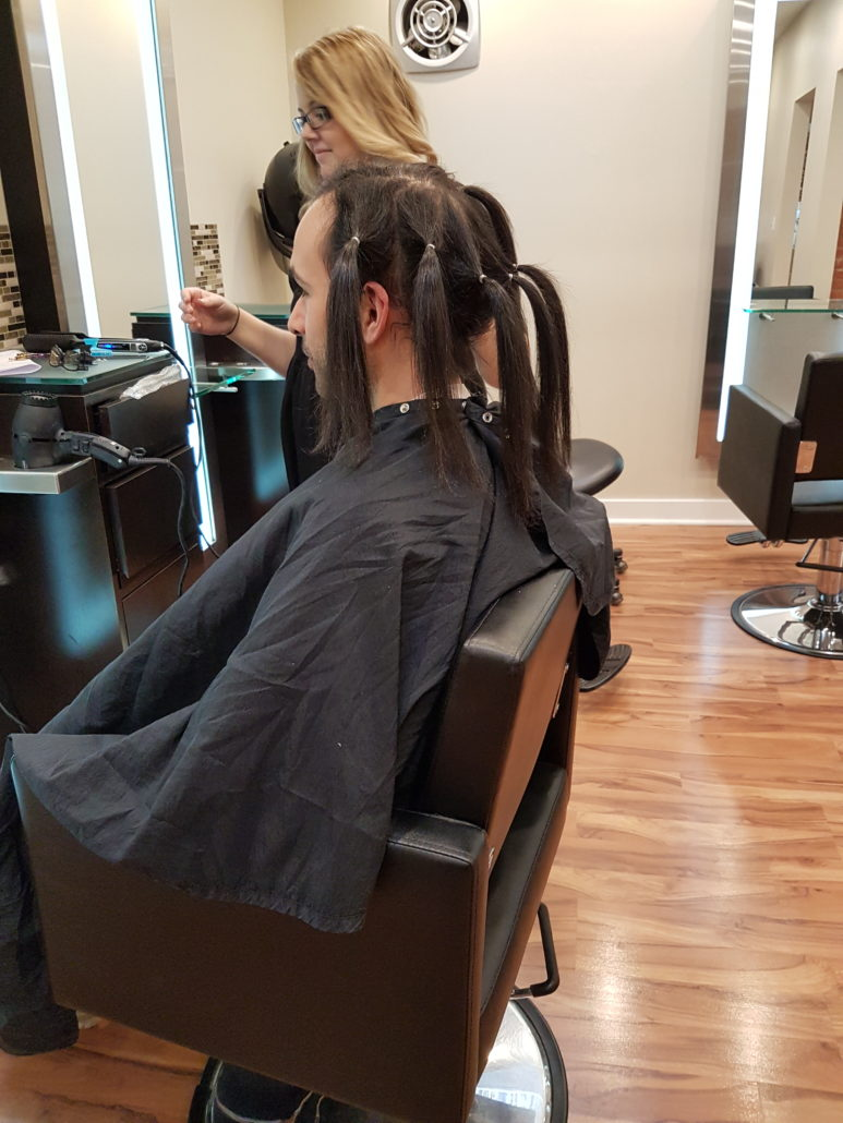 Making The Pigtails