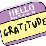 Hello my name is gratitude