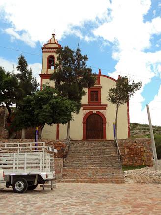 church in cerro san pedro