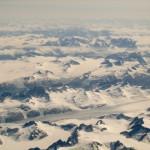Greenlandic beauty from 40000 feet