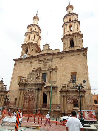 A church in Leon, Mexico