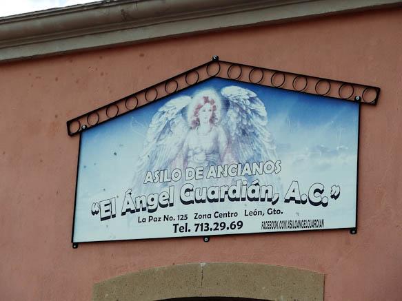 Nursing Home El Angel Guardian in Leon Mexico