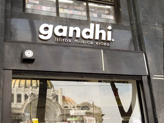 Gandhi store in mexico city