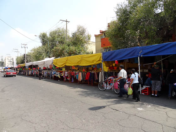 Markets and street food in mexico city