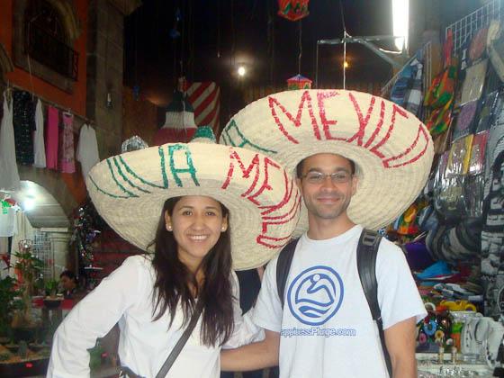 Gigi and I in Mexico City