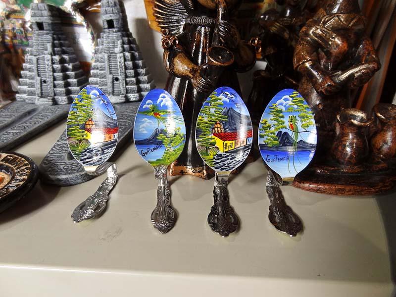 Guatemala Souvenir Spoons
