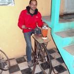 Me Riding Bike Machine Blender