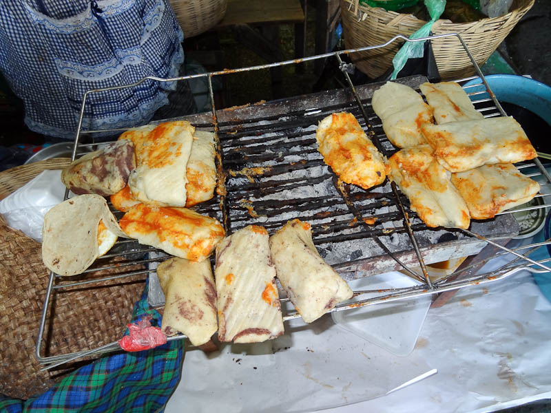 Grilling Tamales