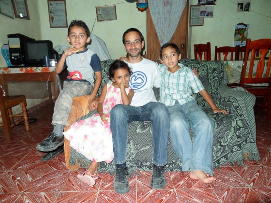 Me With Kevin's Kids