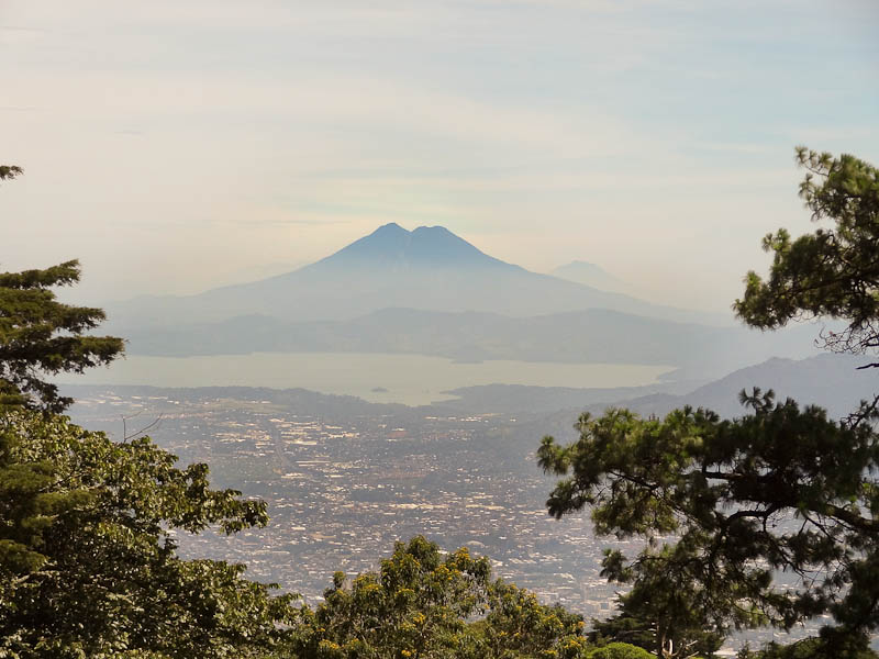 View of San Salvador From One Volcano To Another