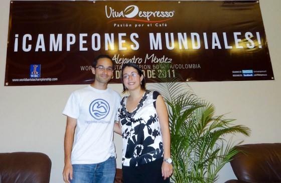 With Maria At Viva Espresso