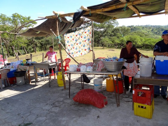 Food And Drinks Outside The Cemetery