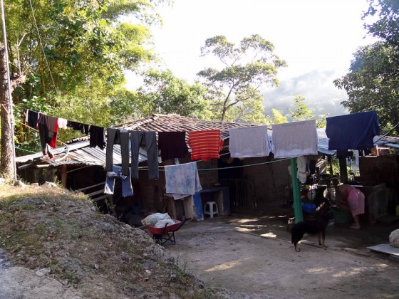 My Clothes Drying Outside