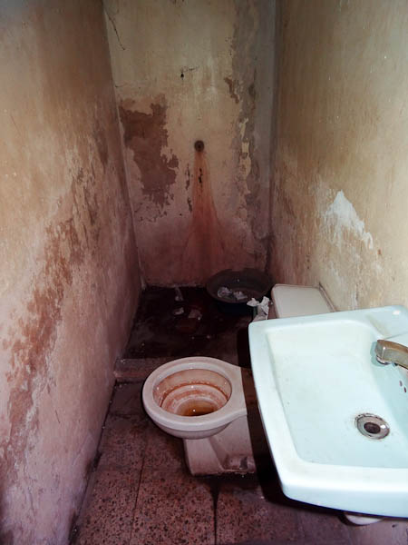 Not The Cleanest Bathroom In The World