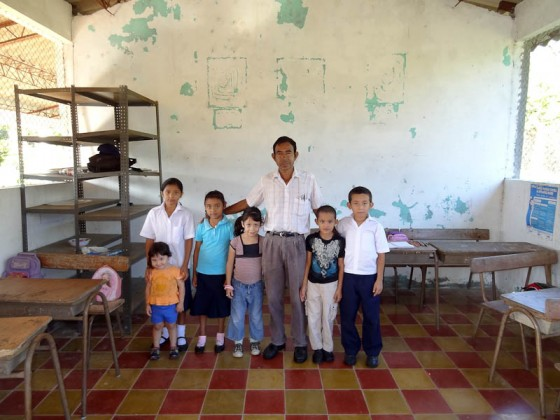 Students With The Teacher