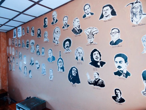 Wall Of Inspirational Leaders In Casa del Indio