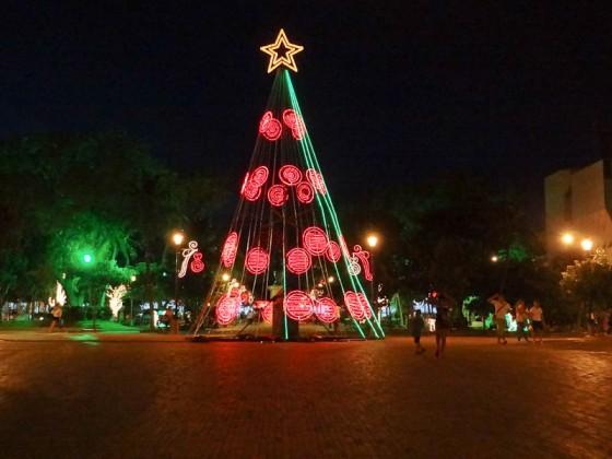 Christmas Decorations In Santa Marta