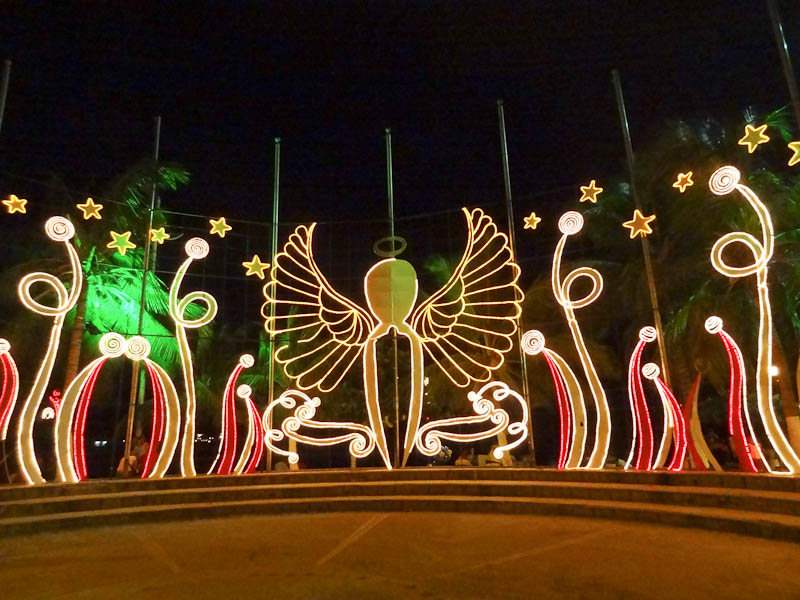 Christmas Decorations In Santa Marta - Santa Marta, Colombia - Tranquil, Authentic, And Caribbean - My