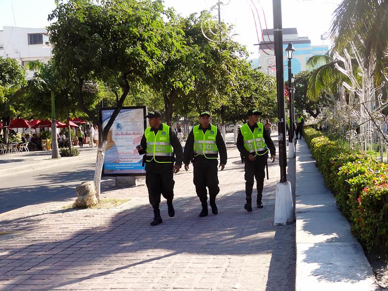 Constant Police Presence