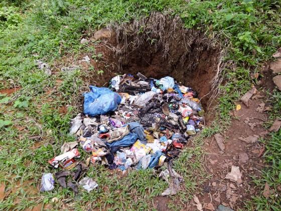 Garbage Burning Pit