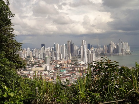 Panama City From Cerro Ancon