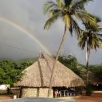 Rainbow in Taganga