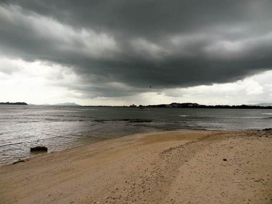 Storm Over The Beach In Panama City