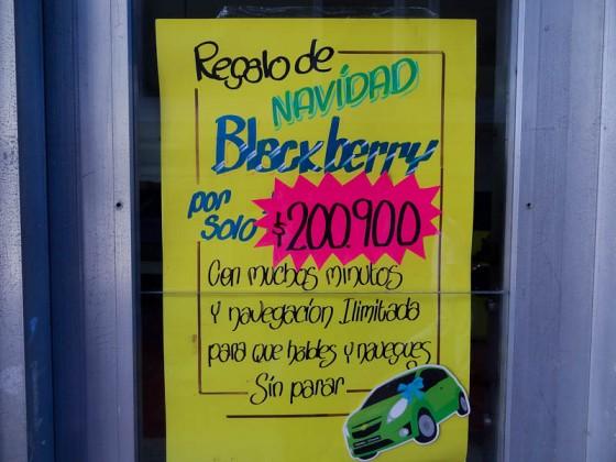 Expensive Blackberry