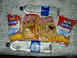 Food And Water For The Trip
