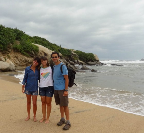 Hiking Back To Leave With My Brazilian Friends