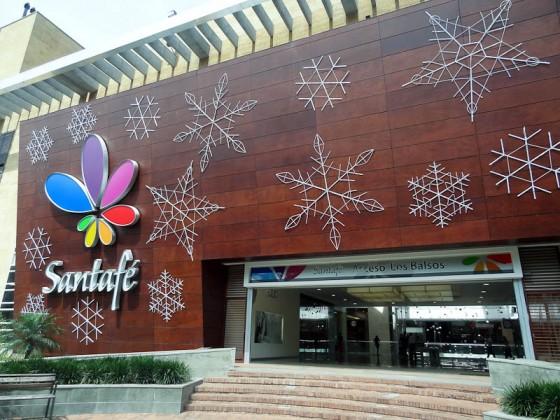 Mall With Open Door