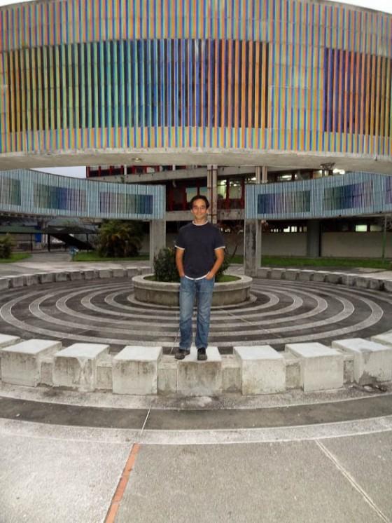 Me In A Plaza At Universidad de Los Andes