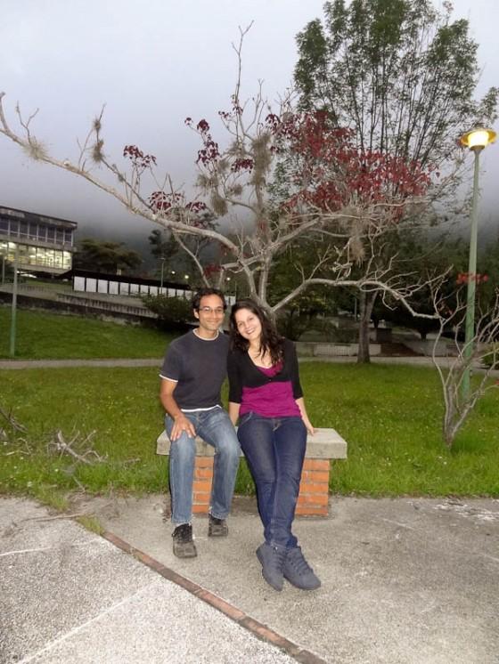 Me At Universidad de Los Andes With My Host Carmen